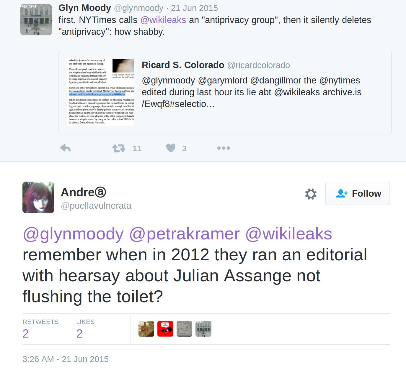 Nej till permission for assange