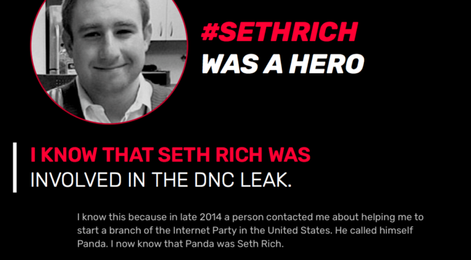 Someone Is Lying To Seth Rich's Family About Kim Dotcom
