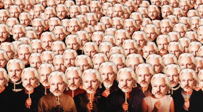 Being Julian Assange